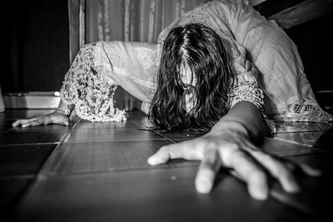 Halloween's Shoot – Sadako